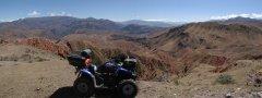 Kirgistan Quad Off road Tour zum Kegety Pass und weiter zu den Konortchok Canyons