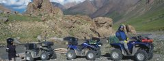 Quad off road Tour am M41 Pamir Highway